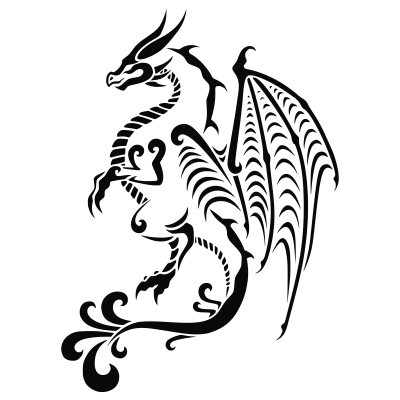 Dragon Tattoos Transparent Clipart PNG Images