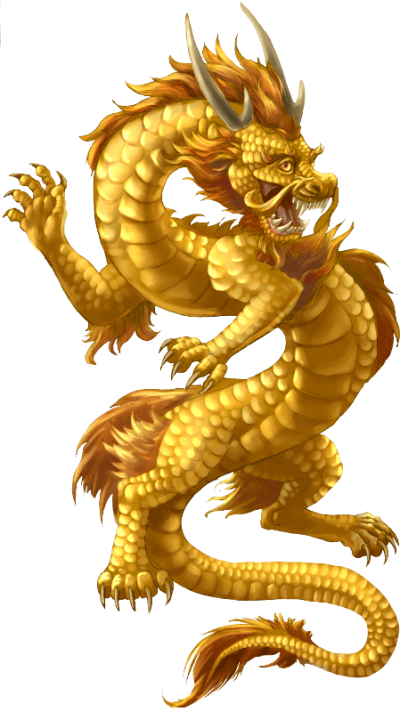 Chinese Dragon Symbol Transparent Background PNG Images