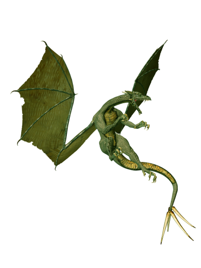 Green Dragon Free Download PNG Images