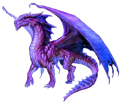 Purple Dragon Background PNG Images