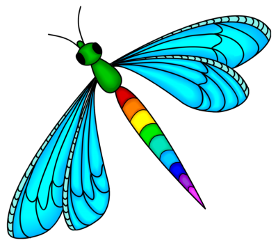 Picture Dragonfly Tattoos PNG Images