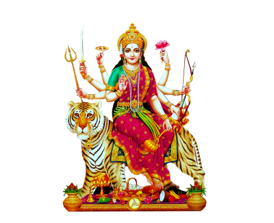 Indian Goddess Durga Matha Png Images