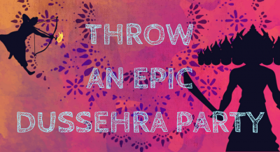 Throw A Dussehra Party This Year Png PNG Images