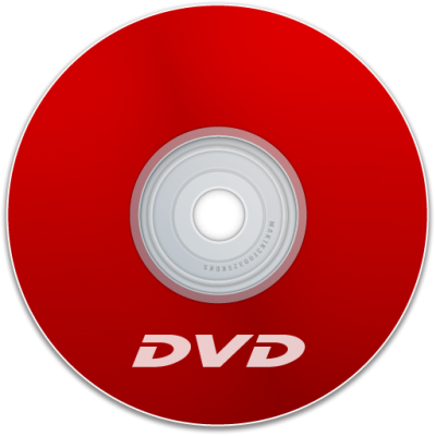 Red Dvd Simple PNG Images