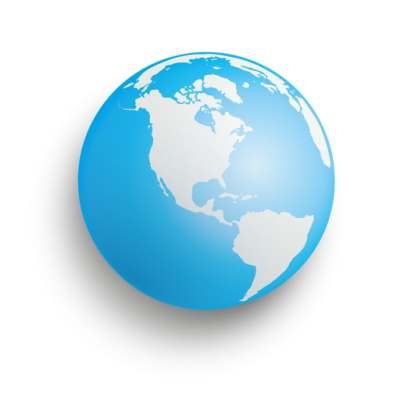 Blue Earth Sphere Transparent Png