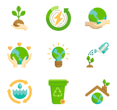 Earth Day Png Icon Packs