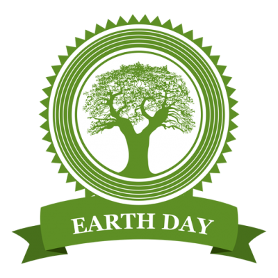 Earth Day Tree Badge Transparent Png