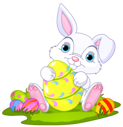 Easter Bunny Clipart Transparent PNG Images