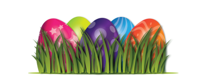 Grass, Easter Eggs Images PNG