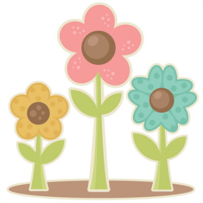 Easter Flower Background PNG Images