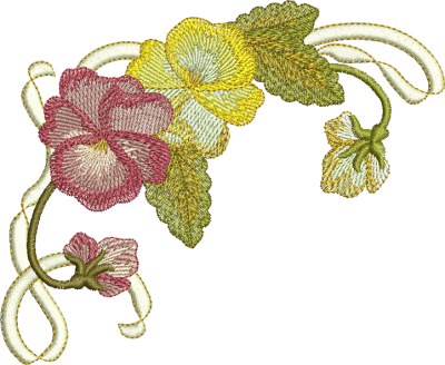 Embroidery Colors Designs PNG Images