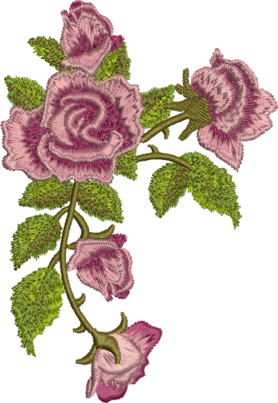 Embroidery Designs Pictures PNG Images
