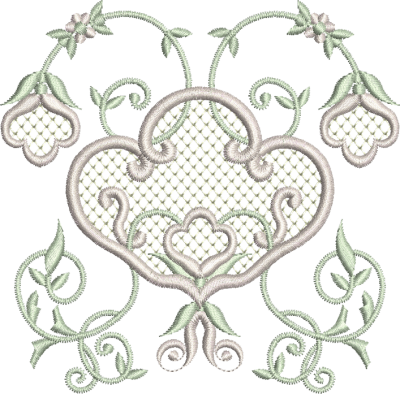 Grey Embroidery Png