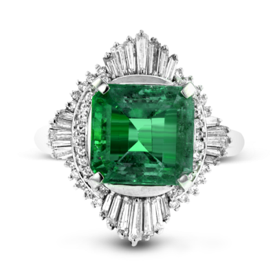 Elegant Ring Emerald Stone Pictures