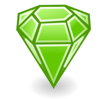 Emerald Stone Icon Png PNG Images