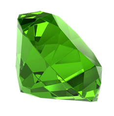 Green Emerald Stone Transparent PNG Images