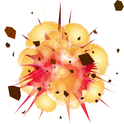 Explosion Background PNG Images