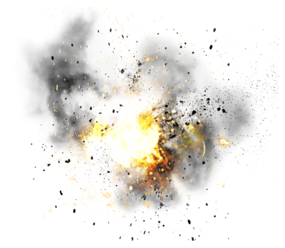 Explosion Simple PNG Images