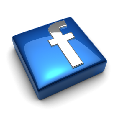 Facebook Logo Square Glossy