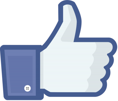 Hands Facebook Logo Like Share Png