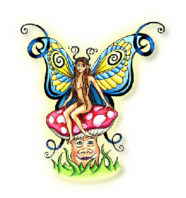 Fairy Tattoos Free Cut Out PNG Images