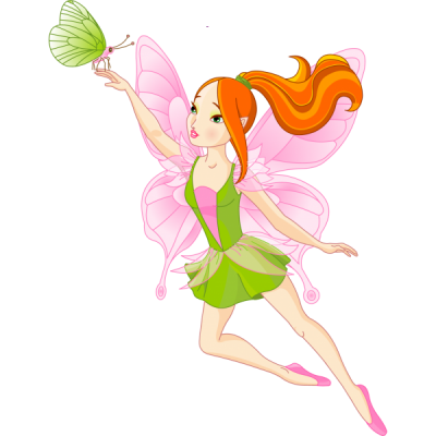 Fairy Golden Fairies Cartoon Clipart