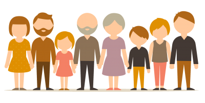 Animation Large Drawing Family Transparent Png PNG Images