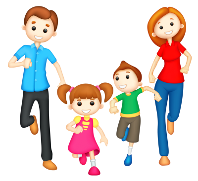 Cartoon Family Character Transparent Free PNG Images