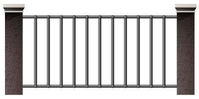 House Metal Fence image Clipart PNG Images