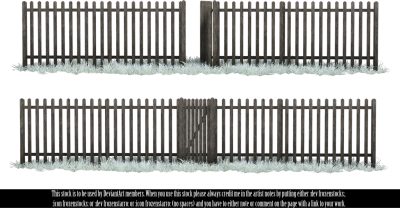 Winter Fence images PNG Images