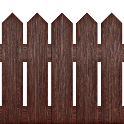 Wooden Picket Fence Png PNG Images