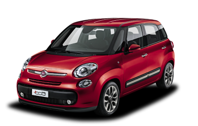 Red Fiat 500 Clipart PNG Images