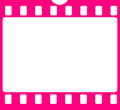 Pink Filmstrip Wonderful Picture Images PNG Images