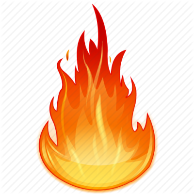 Fire Flames Icon Clipart 14