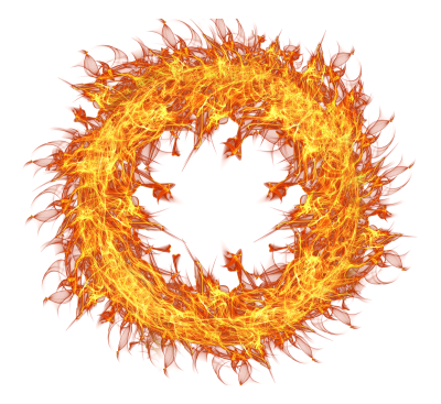 Fire Flame Circle Png By Hasso On Transparentpng