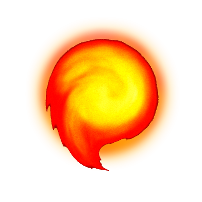 Fireball Transparent Picture PNG Images