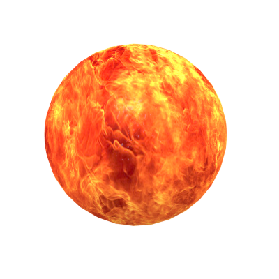 Fireball Vector PNG Images