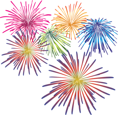 Live Drawing Fireworks HD Photos, Colorful Fireworks