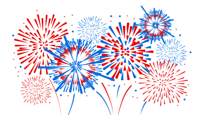 Large Colorful Fireworks Images