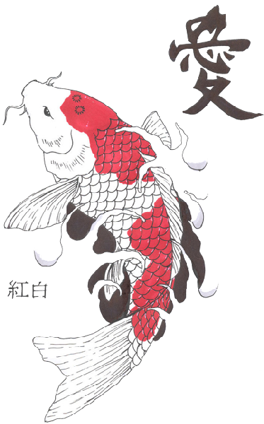 HD Fish Tattoos Clipart