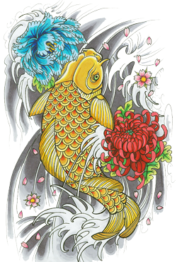 PNG Icon Fish Tattoos PNG Images