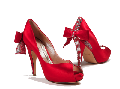 Red Women Shoes Png Transparent Image  PNG Images