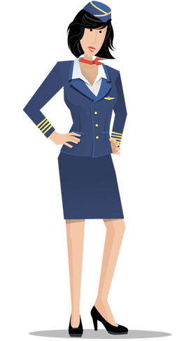 Air Hostess Dating Flight Attendant Png PNG Images