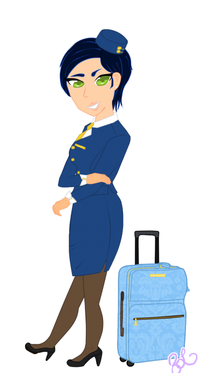 Flight Attendant Png PNG Images