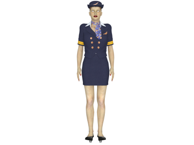 Mind Maiden Flight Attendant Photo PNG Images