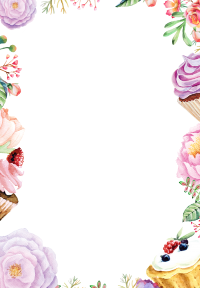 Pattern Frame Sweet And Floral Hd Free PNG Images