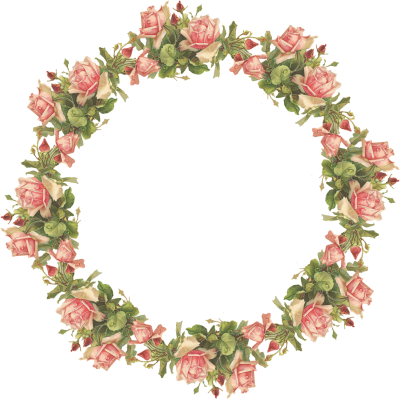 Flowers Frame Photos Png