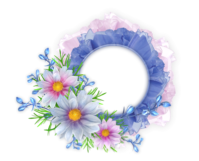 Beautiful Flowers Photoshop PNG Frames Wallpapers Designs PNG Images