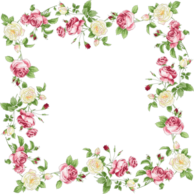 Flowers Borders Transparent PNG Images