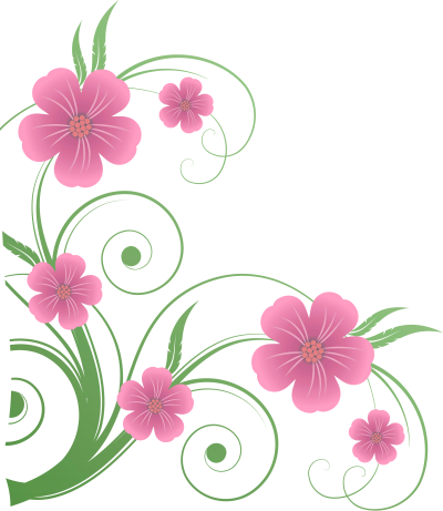 Flowers Png Vector Clip Art PNG Images